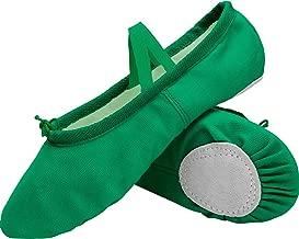 green dance shoes