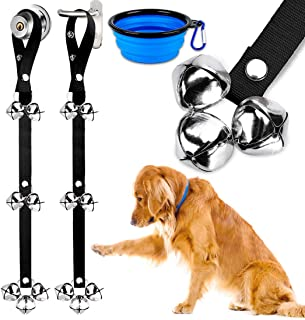 BLUETREE Dog Doorbells Premium Quality Training Potty Great Dog Bells Adjustable Door Bell Dog Bells for Potty Training Yo...
