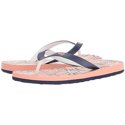 Roxy Kids Tahiti VI (Little Kid/Big Kid) (Coral) Girls Shoes