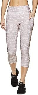 Active Women's Seasonal Printed Capri Length Yoga Leggings
