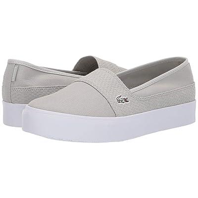 Lacoste Marice Plus Grand 119 2 (Light Grey/White) Women