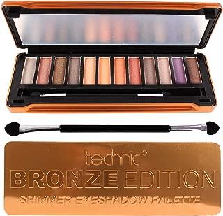 technic bronze edition eyeshadow palette
