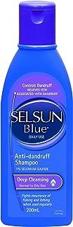 Selsun Blue Deep Cleansing Anti-Dandruff Shampoo, Fights Dandruff While Keeping Your Hair Feeling Soft, 200ML