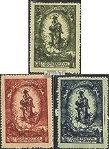Liechtenstein 40-42 (Complete.Issue.) 1920 Birthday Johann II (Stamps for Collectors)