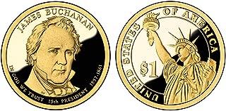 2010 S JAMES BUCHANAN Presidential $1 PF-1 US Mint