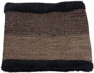 Men's Knit Beanies Hat Scarf 2 Pieces Set Winter Plus Velvet Thicken Soft Cap Scarves Sports Skullies Male