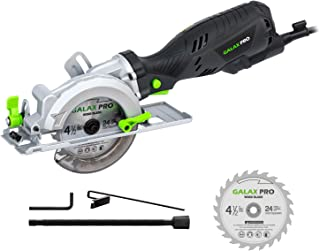 Circular Saw, GALAX PRO 5.8Amp 3500RPM Mini Circular Saw, Max. Cutting Depth1-11/16