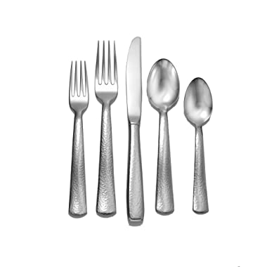 Liberty Tabletop Pinehurst 65-piece 18/10 Flatware Set Service for 12, Includes Serving Pieces Made in USA