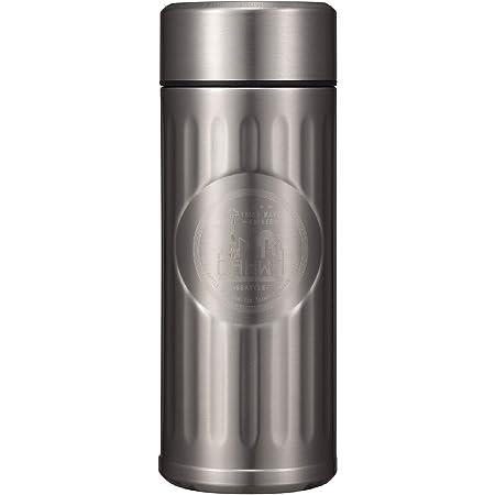 シービージャパン 水筒 シルバー 420ml 直飲み ステンレス ボトル 真空 断熱 カフア コーヒー ボトル QAHWA