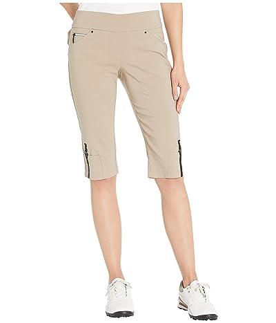 Jamie Sadock 24.5 Skinnylicious Pull-On Knee Capris (Frappachino) Women