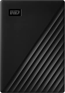 WD 5TB My Passport Portable External Hard Drive, Black - WDBPKJ0050BBK-WESN