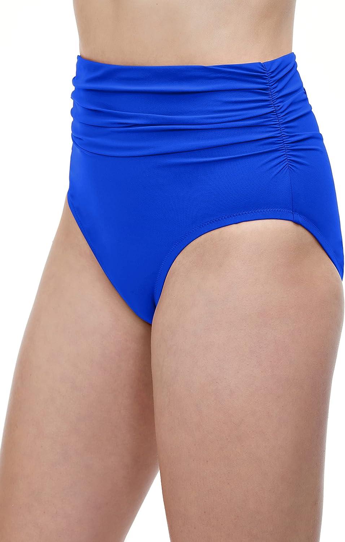 New Profile by Gottex Bikini Swimsuit Bottoms 10 16 Navy Spring Daisy $58