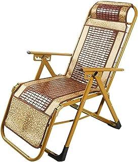Recliner FGVDJ Folding Recliner Chair Garden Beach Summer Deck Chairs Zero Gravity Portable Sun Loungers Mahjong Block