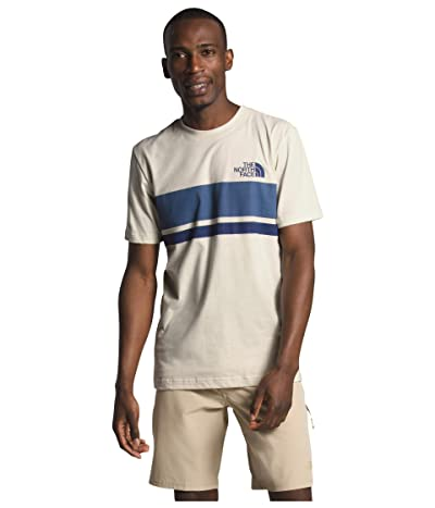 The North Face Horizon Lines Short Sleeve Tee (Vintage White) Men