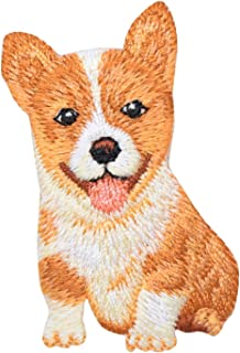 84386dc0170d Dog - Pets - Corgi Puppy - Iron on Embroidered Patch Applique