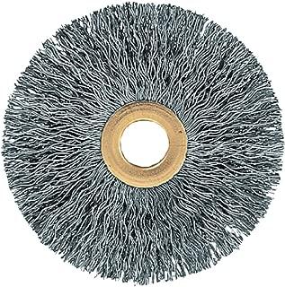 PFERD 81590 Power Crimped Wire Wheel Brush, Small Diameter Copper Centre, Round Hole, Stainless Steel Bristles, 3