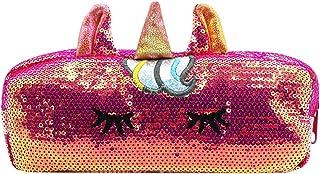Cute Coin Purse Glitter Sequins Cartoon Unicorn Pouch Wallet for Kid Girls Women Handbag Organizer