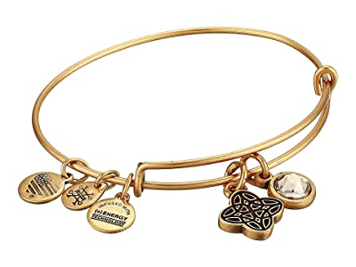 Alex and Ani Wisdom Bangle (Rafaelian Gold) Bracelet
