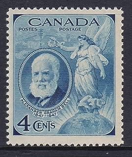 Canada 1947 Alexander Graham Bell Postage Stamp, Catalog No 274