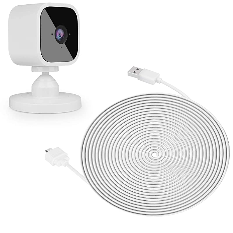 25ft/7.5m Power Cable for Blink Mini Security Camera