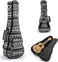 Hola! Music Heavy Duty SOPRANO Ukulele Gig Bag (up to 21.5 Inch) with 12mm Padding