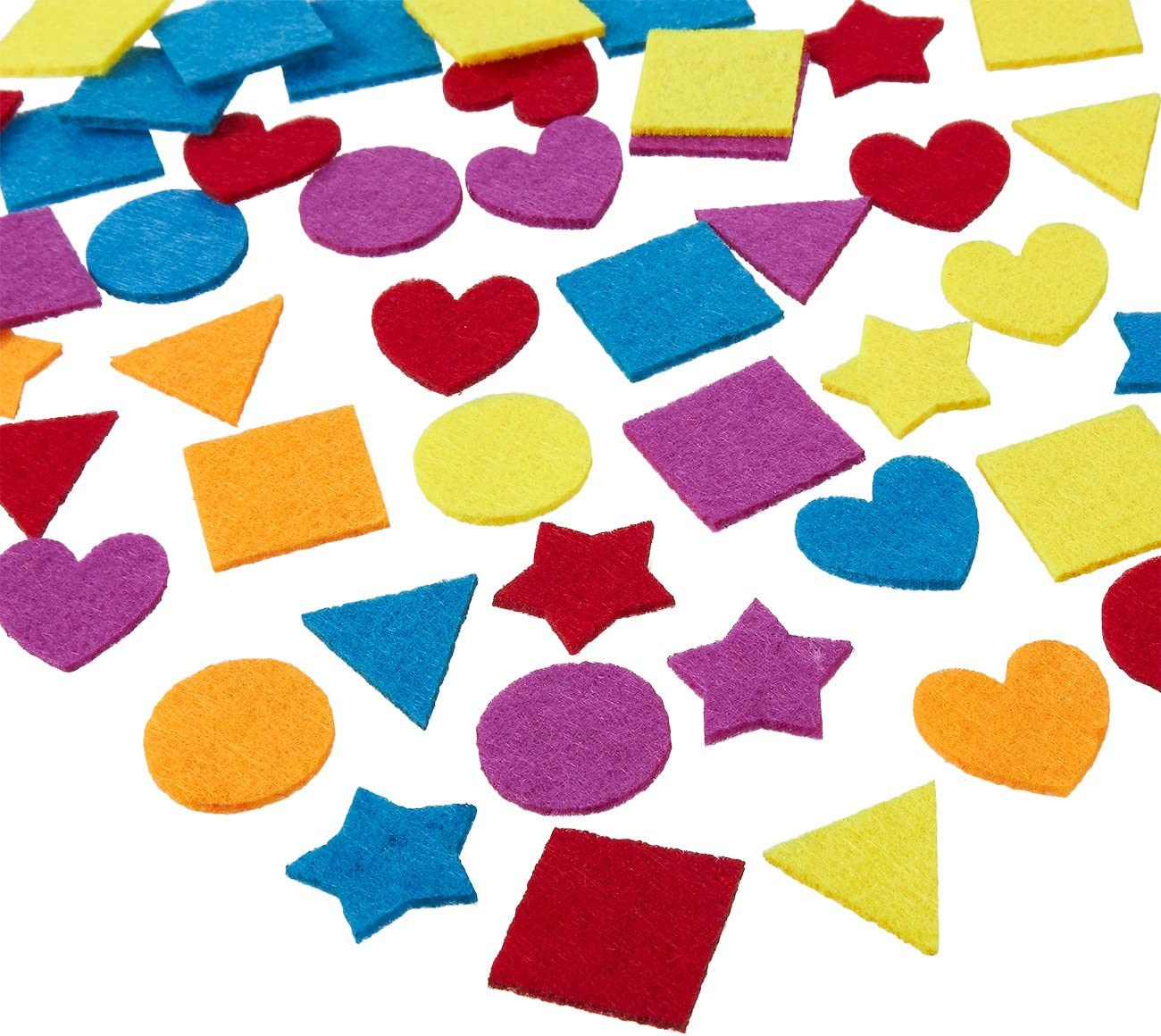 Brand Cheap Sale Venue Juvale Felt Embellishments - Star Heart 1000-Pack Shapes Cheap mail order specialty store