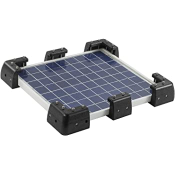 5//7x Set Solar Panel Kit Corner Cable Mounting Bracket Caravan Boat Roof Mount