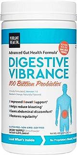 Vibrant Health, Digestive Vibrance, 100 Billion CFU Probiotic, Vegan and Gluten Free, 28 Servings