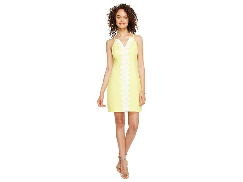Lilly Pulitzer Pearl Shift (Sweet Tart Yellow) Women