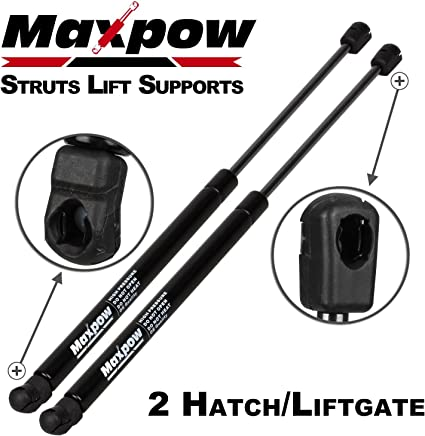 Partsam 2Pcs SG314044 Rear Hatch Liftgate Tailgate Lift Supports Shock Strut Arm Compatible With 2005 2006