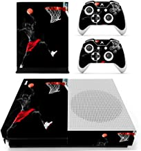 L'Amazo Best Sport American football basketball baseball style XBOX ONE SLIM Skin Designer Game Console System p 2 Controller Decal Vinyl Protective Covers Stickers XBOX ONE S (Maestro)