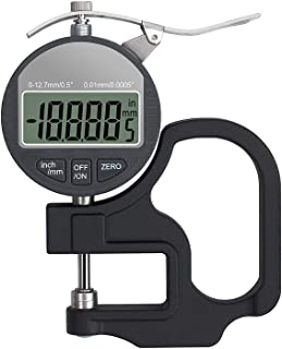 Digital Thickness Gauge Portable Electronic Percentage LCD Display Battery Powered Thickness Gage