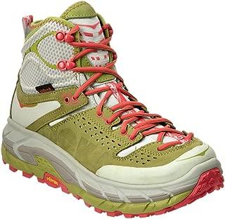 HOKA ONE ONE Tor Ultra Hi WP Running Shoe - Women's Fog Green/Olive 10.5