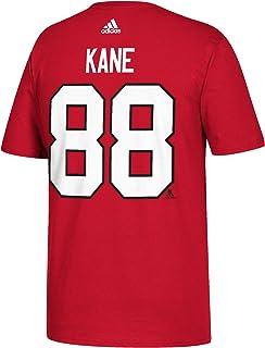 Patrick Kane Chicago Blackhawks Adidas NHL röd spelare t-shirt
