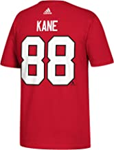 adidas Patrick Kane Chicago Blackhawks NHL Men's Red Player T-Shirt
