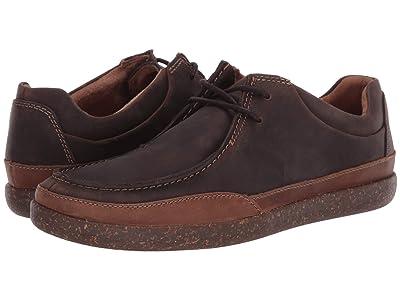 Clarks Un Lisbon Walk (Brown Oily Leather) Men