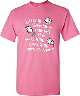 Soft Kitty - Funny Cute Cat Song Sheldon Nerd TV Show T Shirt