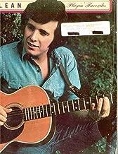Don McLean ~ Playin Favorites (Original 1963 United Artists 161 LP Vinyl Album NEW Factory Sealed in the Original Shrinkwrap Featuring 12 Tracks)