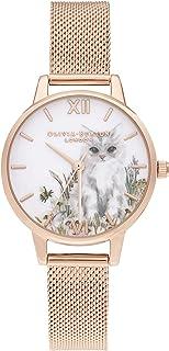 Olivia Burton Reloj Analógico para Mujer de Cuarzo con