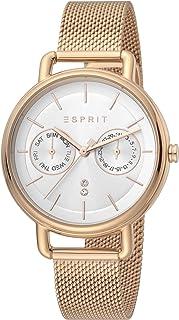ساعة كوارتز ايلين عصرية ومناسبة لعدة مناسبات للنساء من اسبريت - موديل ES1L179M0095