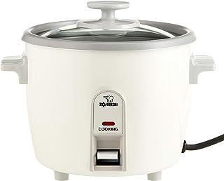 Zojirushi NH-SQ06 Rice Cooker, 3 cups,White