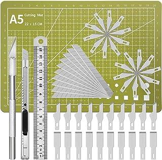 Precision Exacto Knife Upgrade Carving Craft Knife Hobby Knife Exacto Knife Kit Utility Knife Set 40 Spare Exacto Knife Bl...