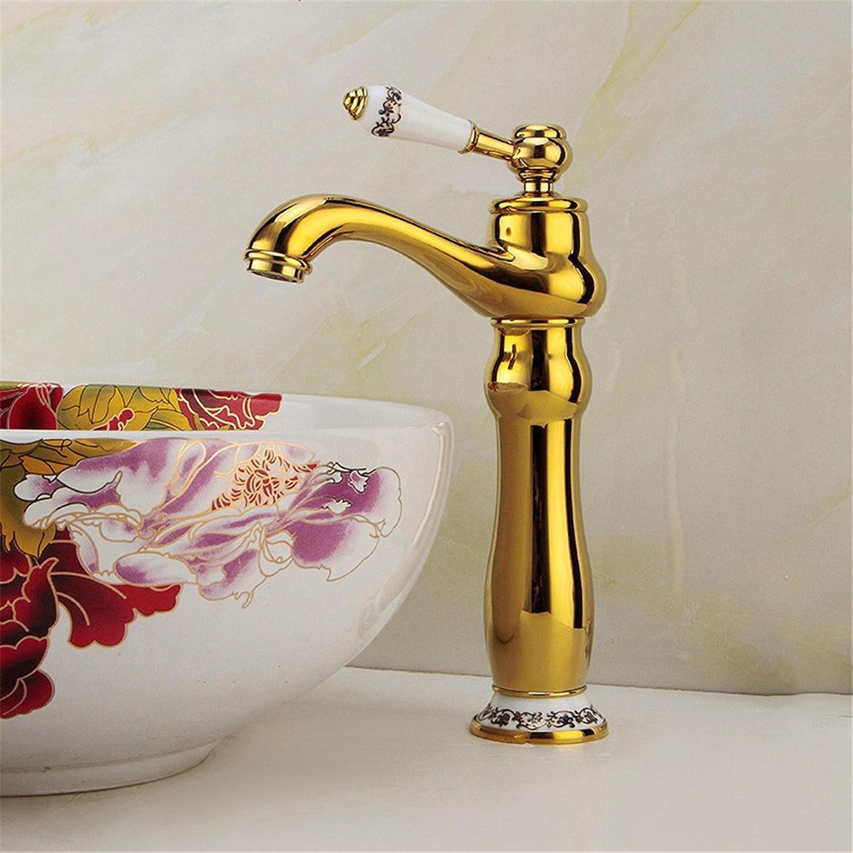 Waschtischarmatur Wasserhahn Mit Spülbrause Wasserhahn Jiantao European Golden Wasserhahn Becken Wasserhahn über Gegenbassin Wasserhahn Gold Alle Kupfer Wasserhahn Blau Und Weien Griff