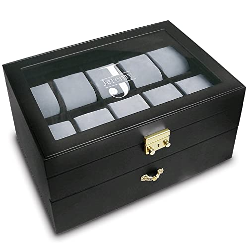 Personalized Watch Boxes Amazon Com