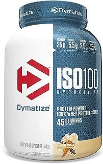 بروتين ايزو100 من دايماتايز - بنكهة الفانيلا - 3 باوند