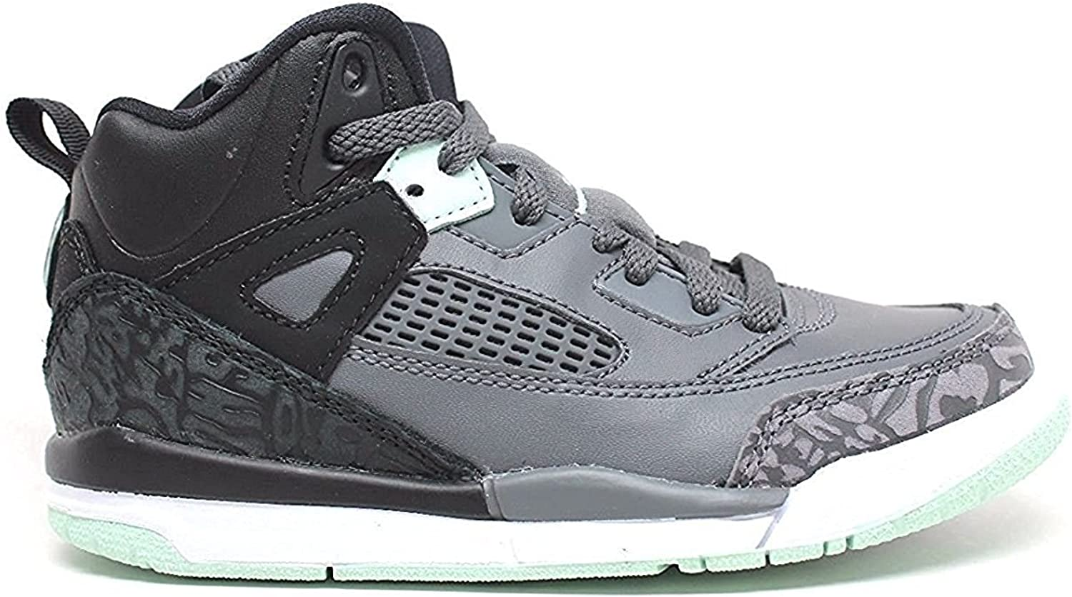 Jordan Spizike schwarz Mint Foam-Dark grau (Little Kid)