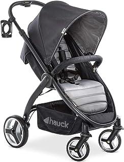 Hauck Lift Up 4 - Silla de paseo con asiento amplio, ligera, chasis aluminio, plegado libro con una