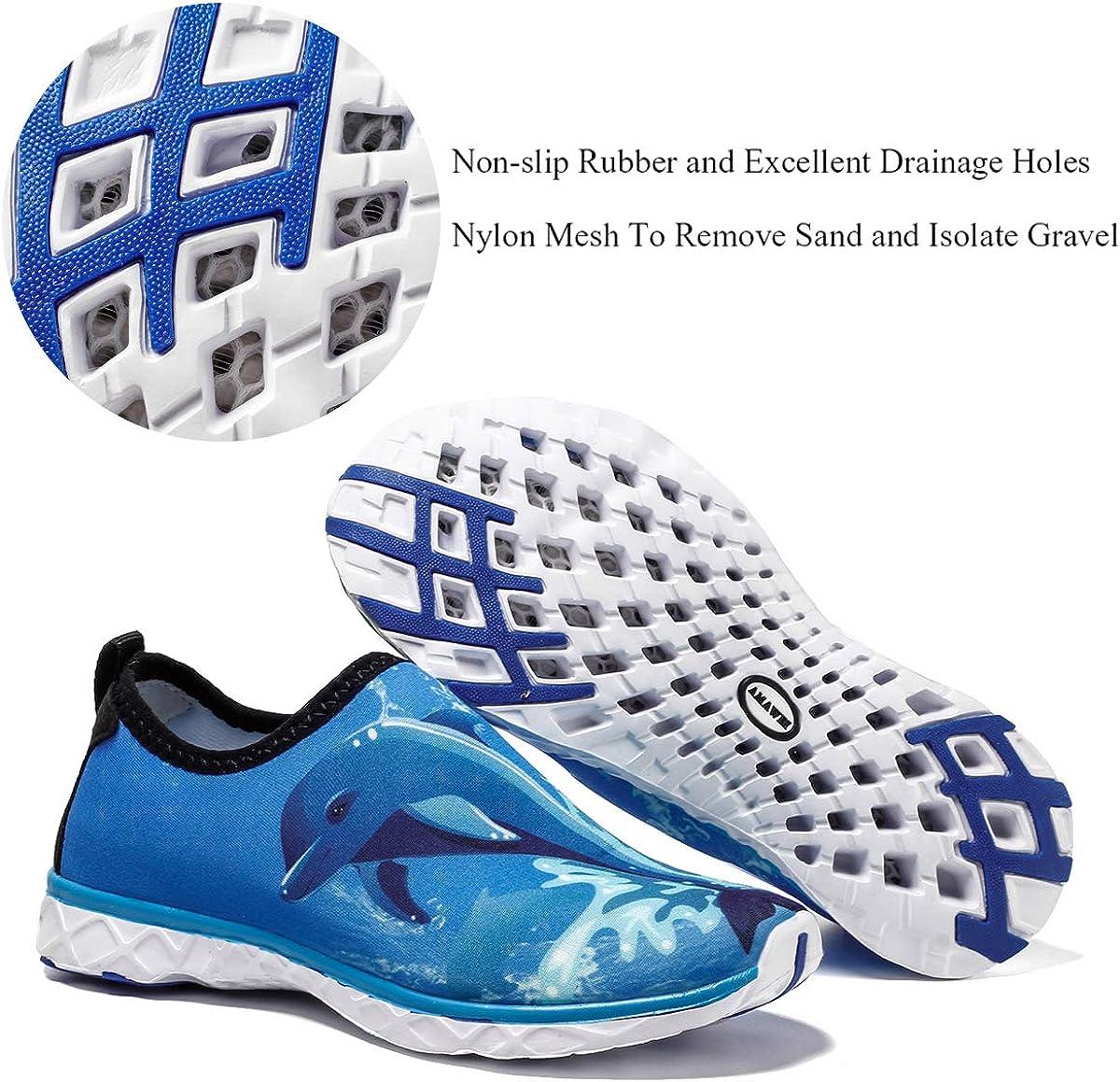 Little Kids//Big Kids Dian Sen Boys/&Girls Water Shoes Lightweight Breathable Swim Athletic Beach Sport Soft Aqua Socks