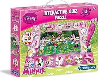 CLEMENTONI Disney Minnie Mouse Interactive Quiz Puzzle (13834.0)