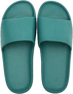 شباشب حمام SHIBEVER أحذية حمام ناعمة غير قابلة للانزلاق للنساء صنادل مسطحة أرضية داخلية